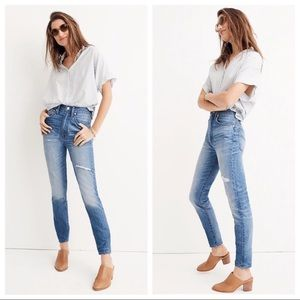 Madewell Skinny Jeans Size 27 NWT